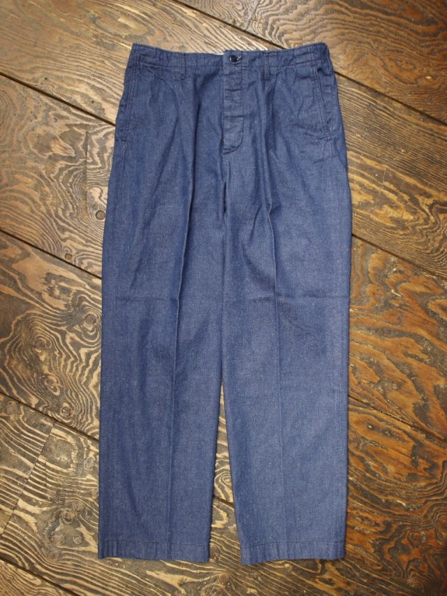 RADIALL  「T.N. WIDE FIT TROUSERS 〈DEEP INDIGO〉」 デニムトラウザーズ