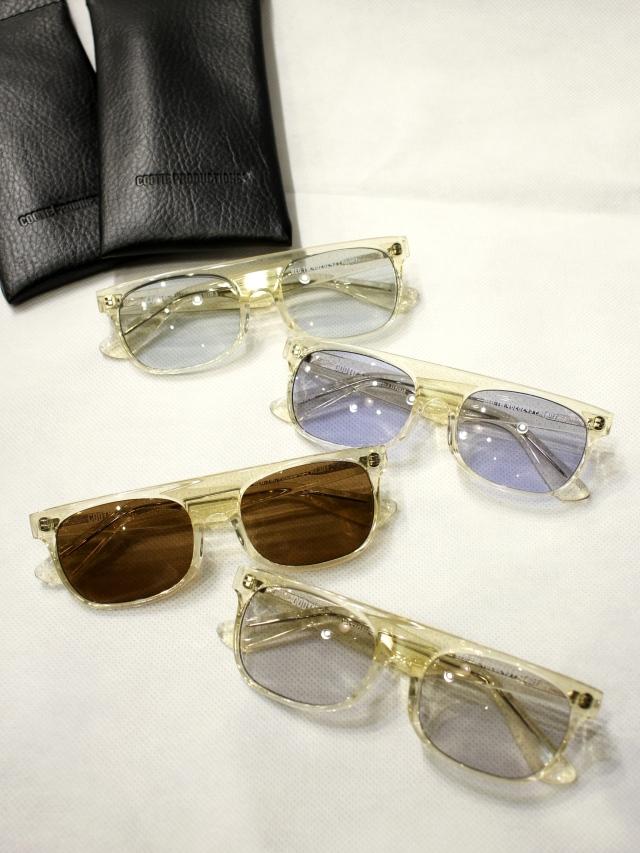 COOTIE    「 Raza Flat Top Glasses 」 フラットトップ グラッシーズ