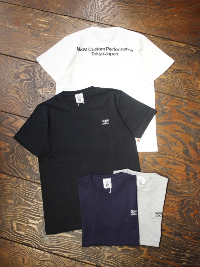 M&M CUSTOM PERFORMANCE   「 PRINT S/S T-SHIRT 」 ポケットティーシャツ