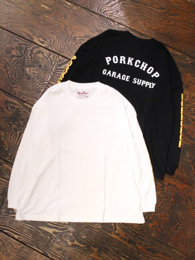 PORKCHOP GARAGE SUPPLY   「P.C.G.S L/S TEE P-19」  ロングスリーブティーシャツ