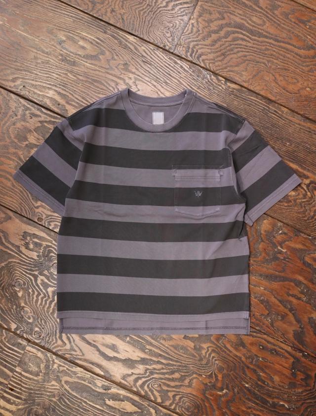 Liberaiders  「 OVERDYED STRIPED TEE 」 ボーダーティーシャツ