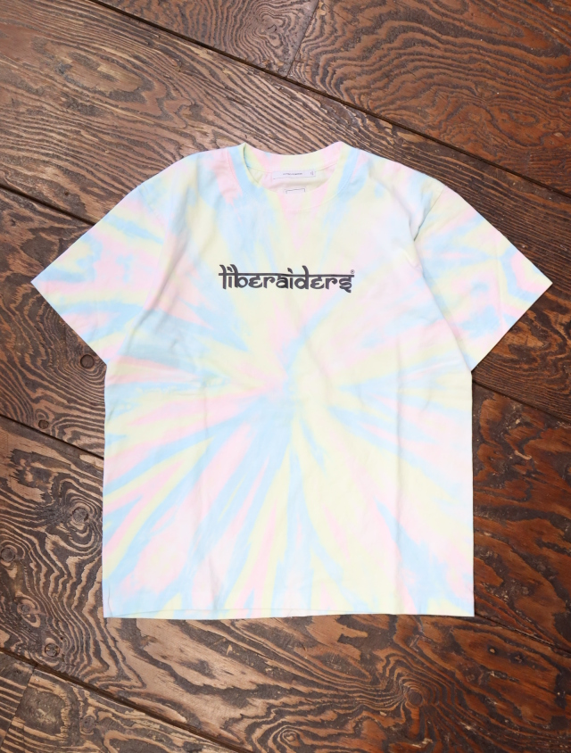 Liberaiders  「 TIEDYE TEE 」 タイダイティーシャツ