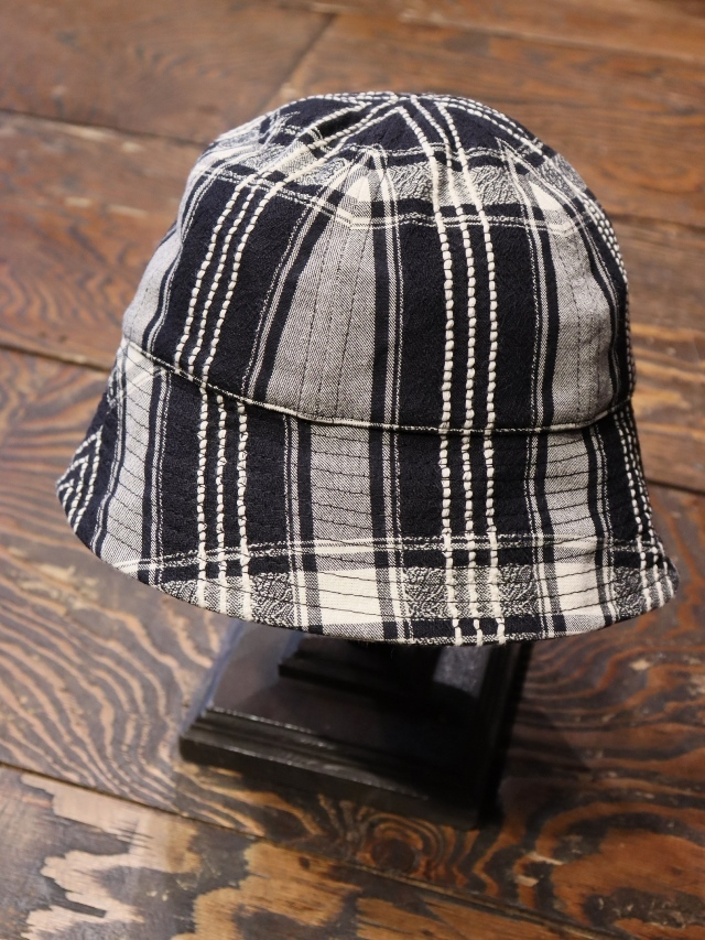 COOTIE   「 Jacquard Check Ball Hat 」  ボウルハット