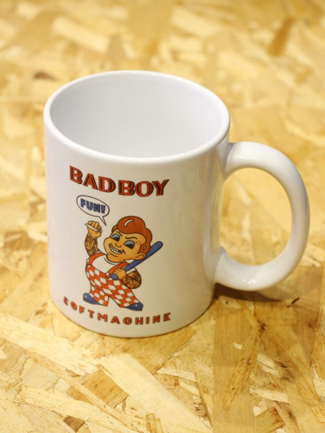 SOFTMACHINE  「BAD BOY MUG」 マグカップ