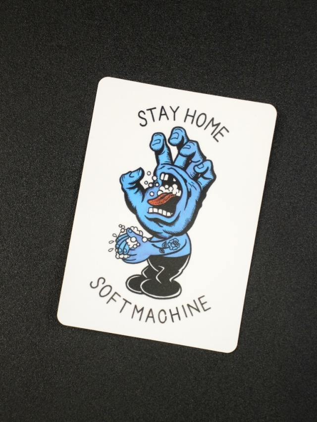 SOFTMACHINE  「STAY HOME STICKER」 ステッカー