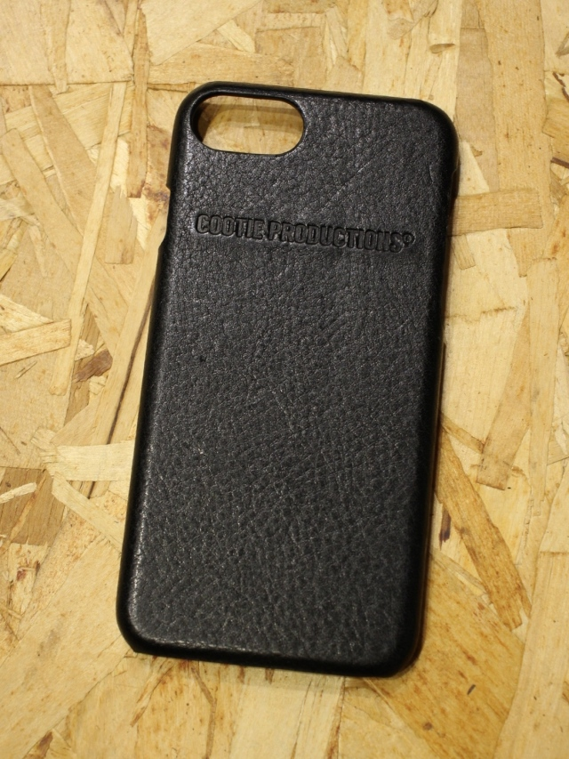 COOTIE   「 Leather I Phone Case 」  レザー iPhone 7、8 ケース