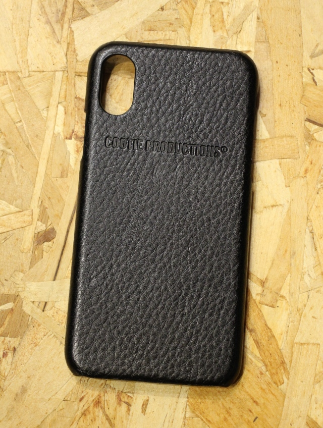 COOTIE   「 Leather I Phone Case 」  レザー iPhone X、Xs ケース