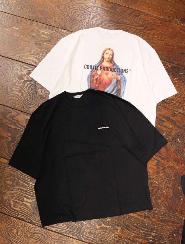 COOTIE  「 Print Oversized S/S Tee (JESUS) 」 オーバーサイズティーシャツ