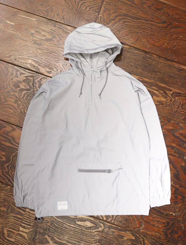 SON OF THE CHEESE  「REF JKT (SILVER)」  リフレクターハーフジップジャケット