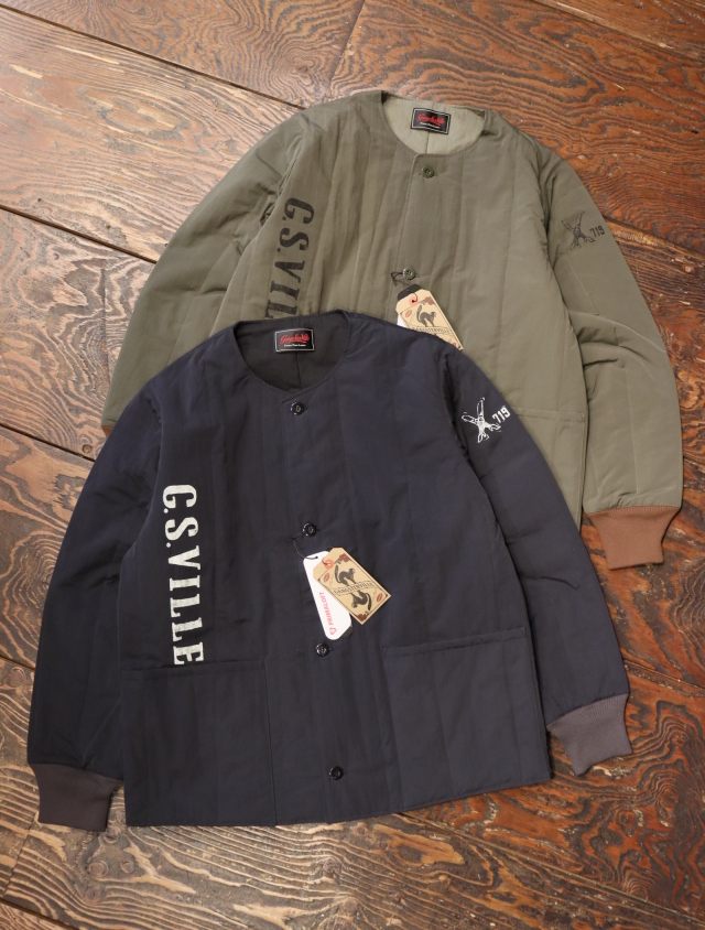 GANGSTERVILLE   「719 - QUILTED JACKET」  キルティングジャケット