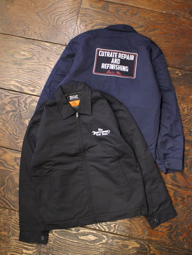 CUT RATE  「WORK JACKET」 ワークジャケット