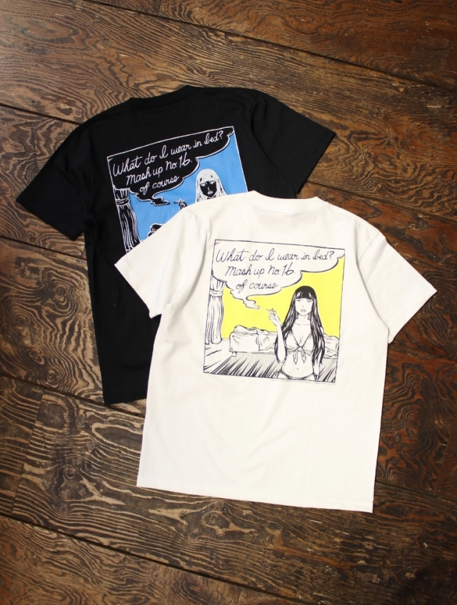 MASH UP KOBE 16th anniversary  「No.16 T-SHIRT 」 ポケットティーシャツ