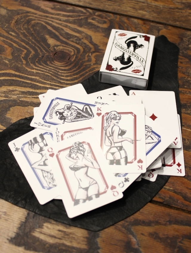 GANGSTERVILLE  「THUG QUEEN - PLAYING CARDS」  トランプ