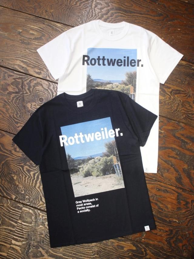 ROTTWEILER   「 Desert Photo Tee 」  フォトティーシャツ