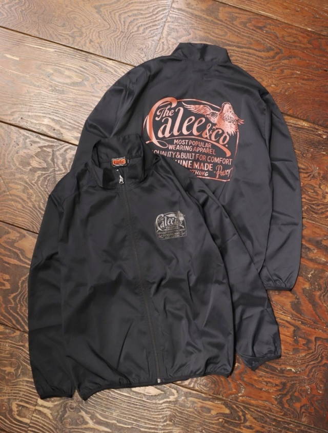 【Limited Item !!】 CALEE  「SIGN BOARD PAINT NYLON TRACK JACKET」  ナイロントラックジャケット