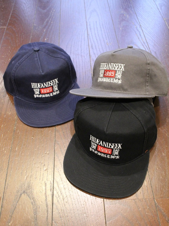 HIDEANDSEEK 「Washed Trucker CAP」 トラッカーキャップ