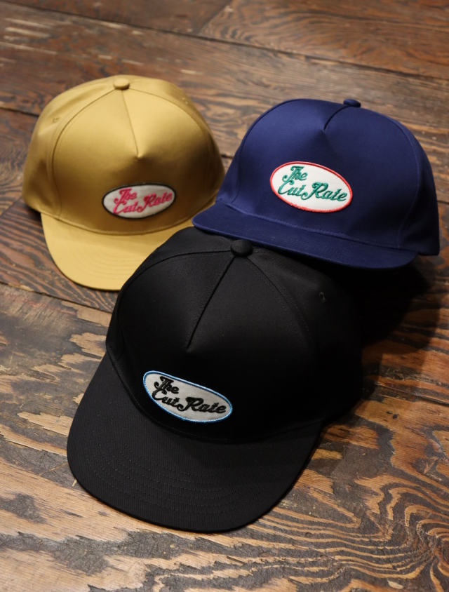 CUT RATE  「 TWILL WAPPEN CAP」 ワッペンキャップ