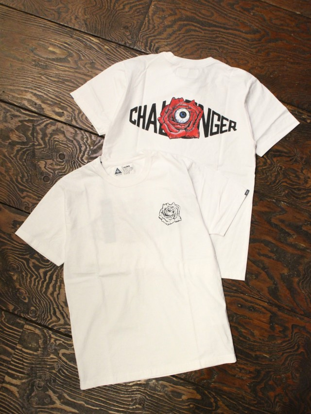 CHALLENGER   「10TH ROSE LOGO TEE」 プリントティーシャツ