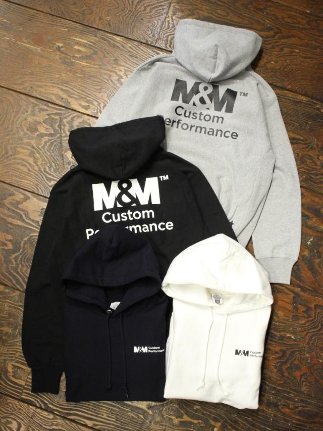 【 2月16日 発売! 】 M&M CUSTOM PERFORMANCE   「 HEAVY PARKA 」 プルオーバーパーカー