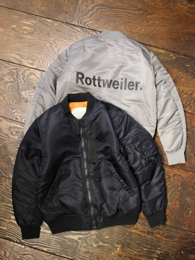 ROTTWEILER  「 MA-1  」  MA-1 ジャケット