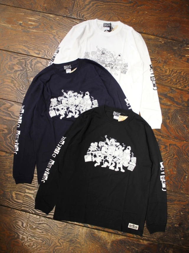 CUT RATE  「SESAME STREET L/S T-SHIRT」 プリントロンティー