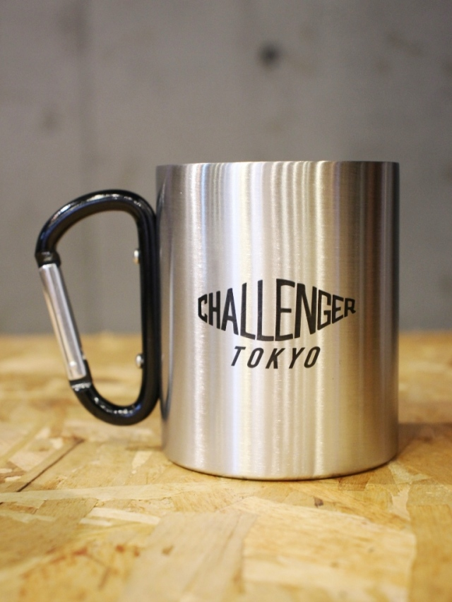 CHALLENGER    「STAINLESS MUG」  ステンレスマグカップ