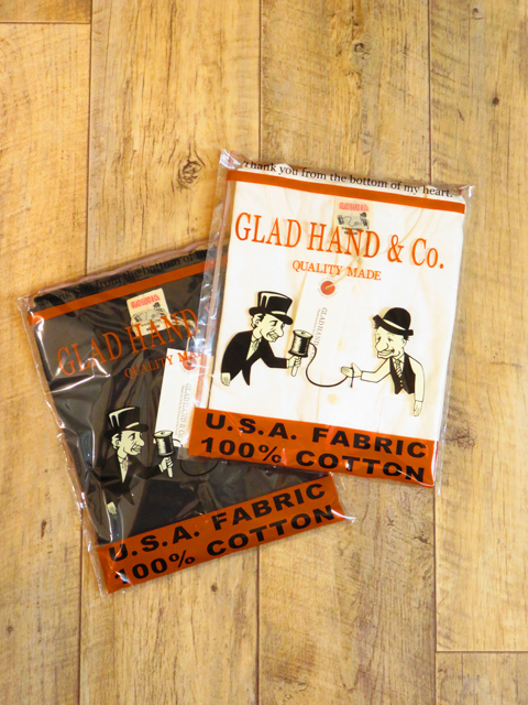 GLAD HAND 「STANDARD HENRY POCKET T-SHIRTS」 ヘンリーポケットティーシャツ