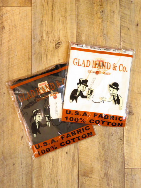 GLAD HAND 「STANDARD POCKET T-SHIRTS」 ポケットティーシャツ