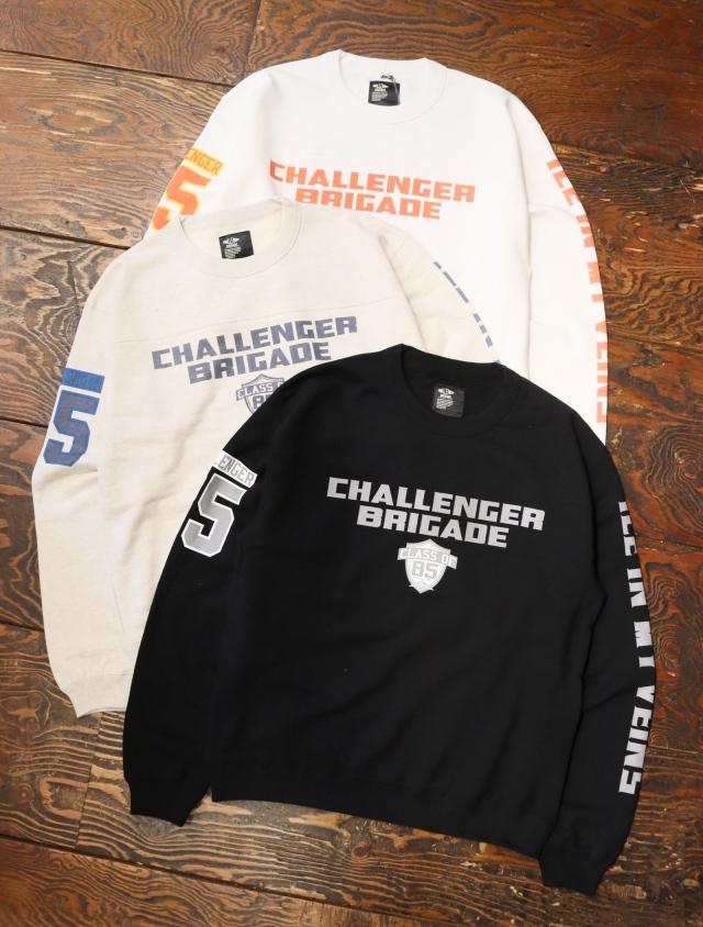 CHALLENGER  「BRIGADE SWEAT」  フットボールスウェット