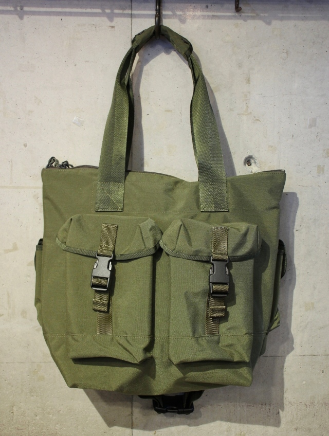 CHALLENGER   「MILITARY CUSTOM TOTE BAG」 トートバッグ