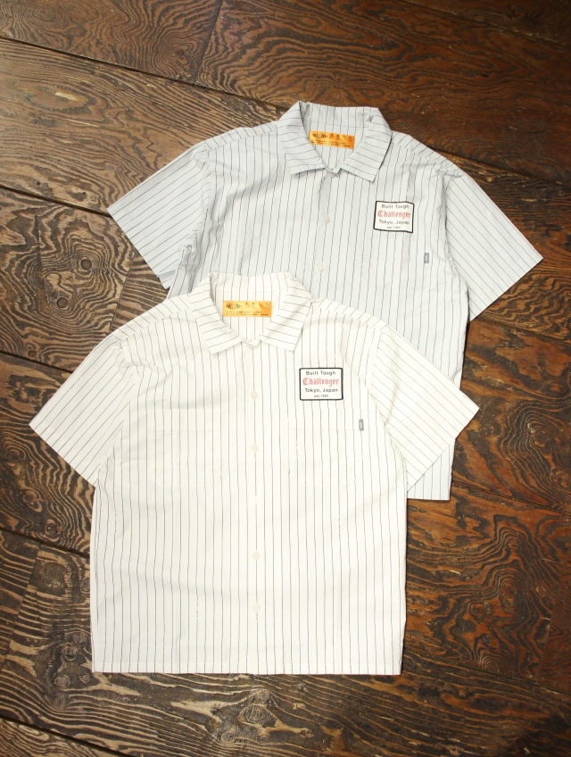 CHALLENGER   「S/S ORIGINAL STRIPE WORK SHIRT」 ストライプワークシャツ
