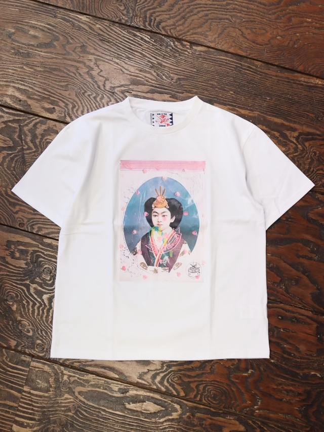 SON OF THE CHEESE  「 JP TEE 」 プリントティーシャツ