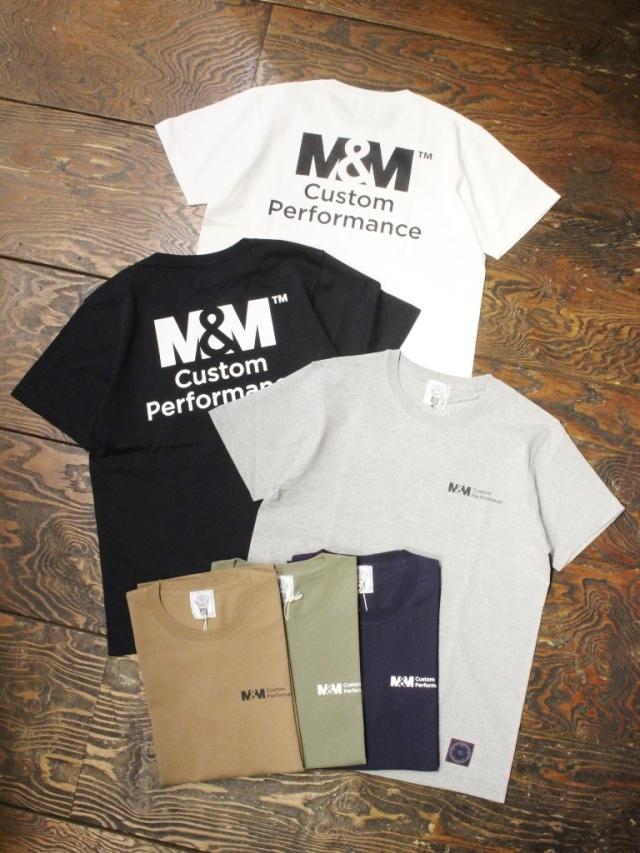 【 2月18日 発売! 】 M&M CUSTOM PERFORMANCE   「 PRINT S/S T-SHIRT 」 プリントティーシャツ