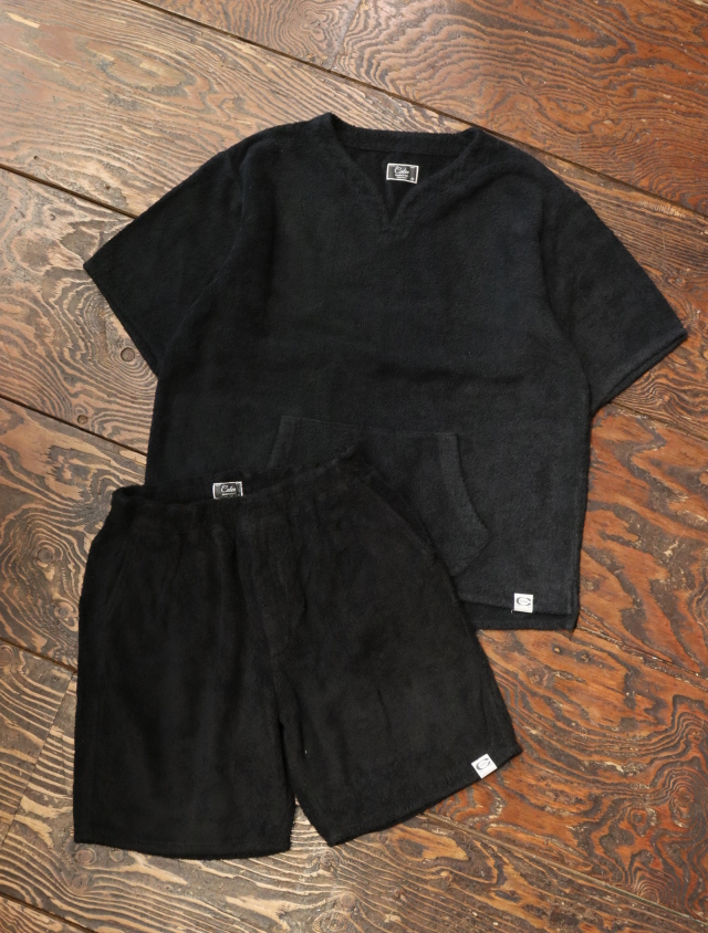 【Limited Item !!】 CALEE  「KEY NECK PILE SET UP 」   パイルセットアップ