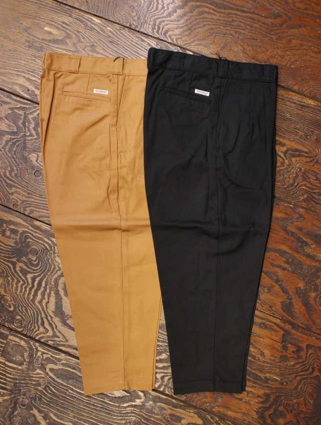 COOTIE  「T/C Serge 2 Tuck Trousers 」 2タックトラウザー