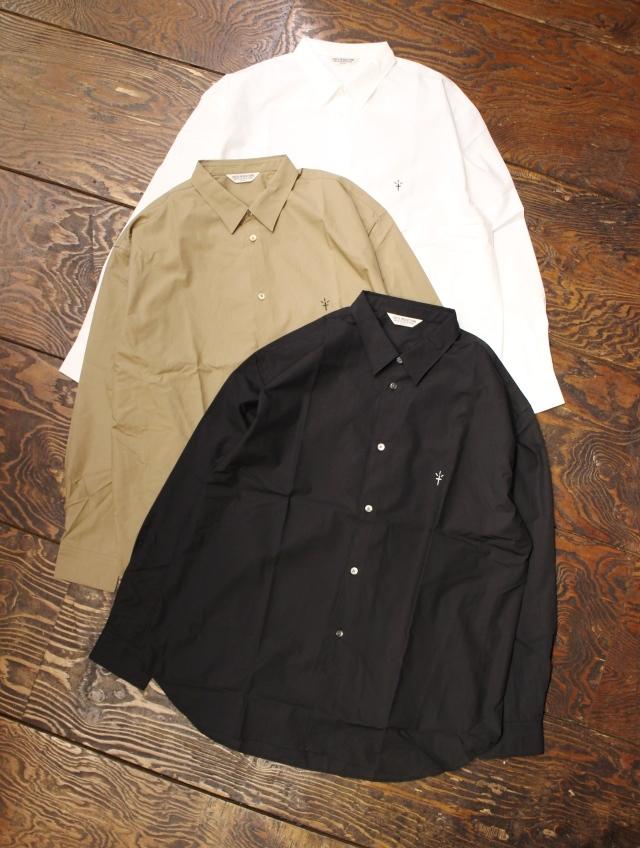 COOTIE  「Supima Typewriter L/S Shirt 」 タイプライター レギュラーカラーシャツ
