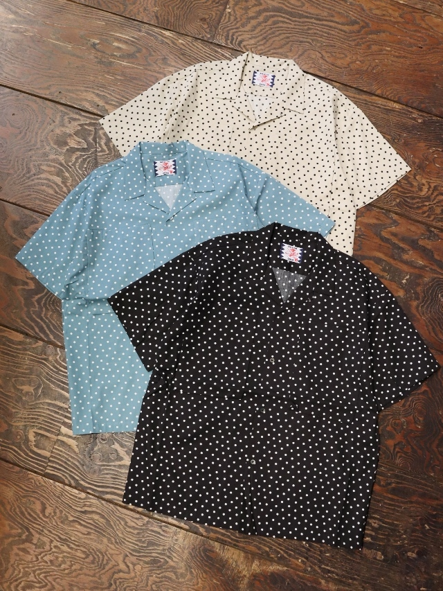 SON OF THE CHEESE  「 BOX POCKET S/S 」 オープンカラーシャツ