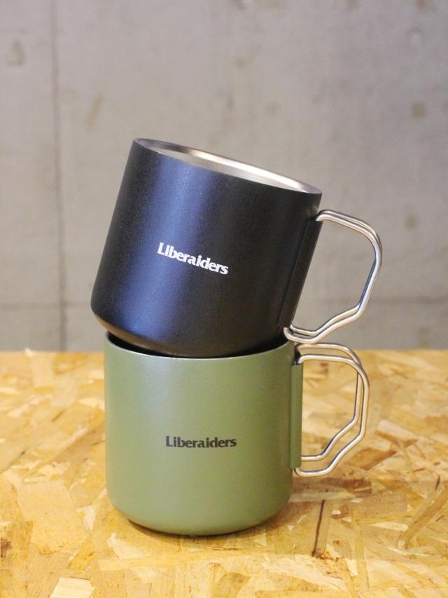 【再入荷 !!】 Liberaiders  「 LIBERAIDERS THERMO MUG 」  ステンレスマグカップ
