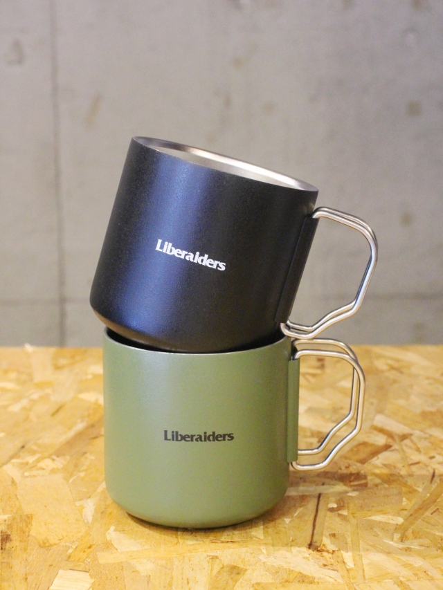 Liberaiders  「 LIBERAIDERS THERMO MUG 」  ステンレスマグカップ