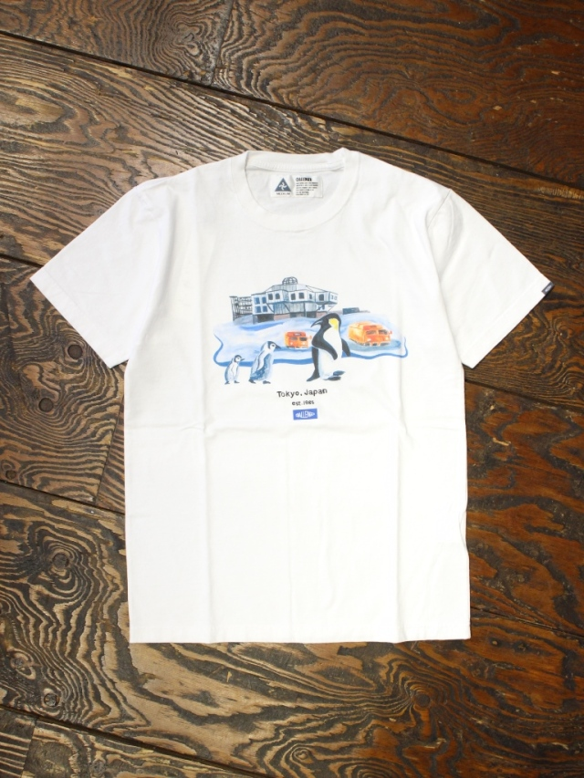 CHALLENGER   「FIRST PENGUIN TEE」  プリントティーシャツ