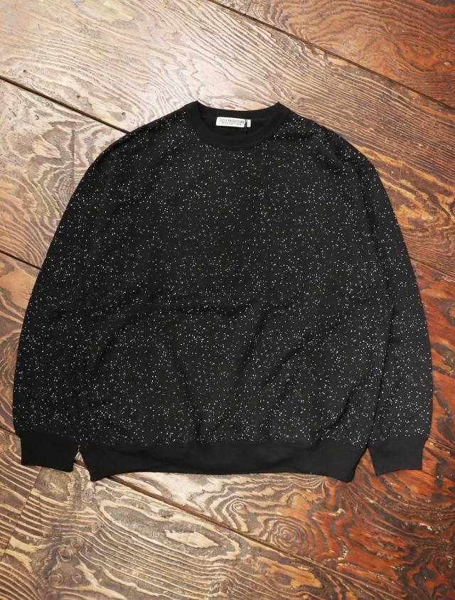 COOTIE  「Splatter Print Crewneck Sweatshirt」  クルーネックスウェット