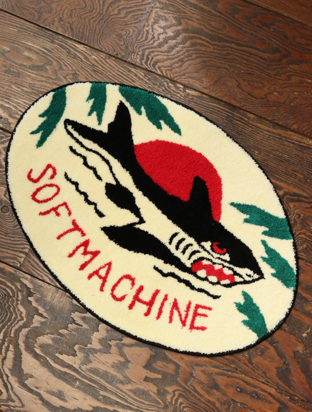 SOFTMACHINE   「JAWS RUG」 ラグマット