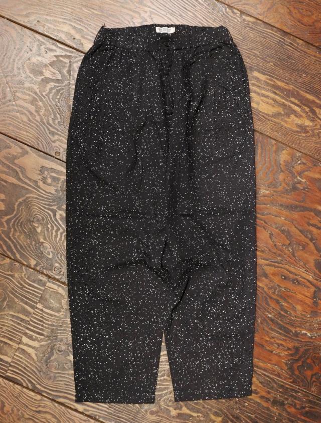 COOTIE  「Splatter Print OX 2 Tuck Easy Pants」  2タックイージーパンツ