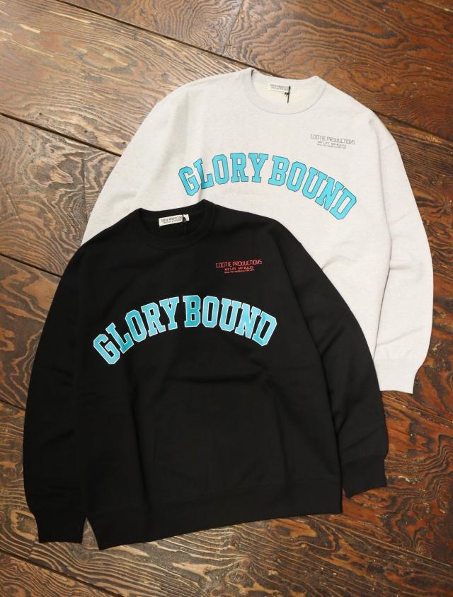 COOTIE  「Print Crewneck Sweatshirt (GLORY BOUND)」  クルーネックスウェット