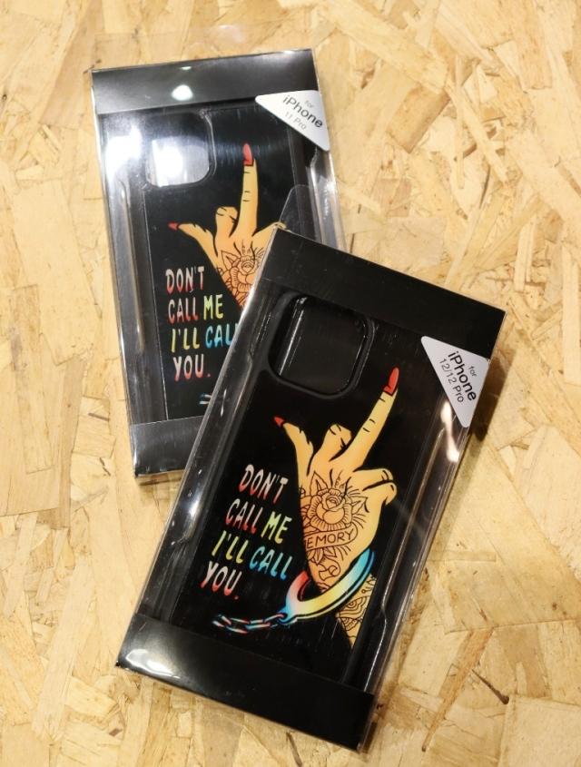 SOFTMACHINE   「DON'T CALL ME iPhone CASE 」 iPhone 11 、11pro、12/12pro、12mini ケース