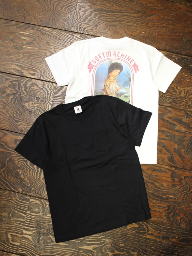 SOFTMACHINE  「CHOLA-T」 ポケットティーシャツ