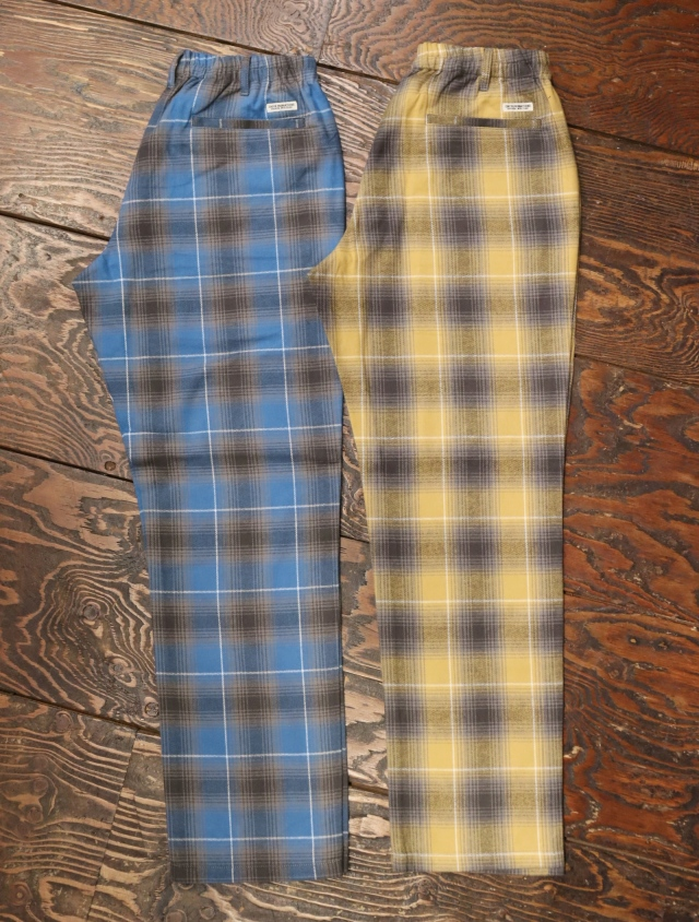 COOTIE  「Ombre Nel Check Easy Pants 」 ネルチェック イージーパンツ