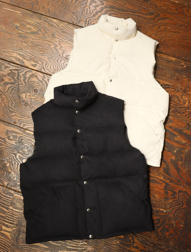 COOTIE  「Fake Suede Down Vest」  フェイクスウェード ダウンベスト