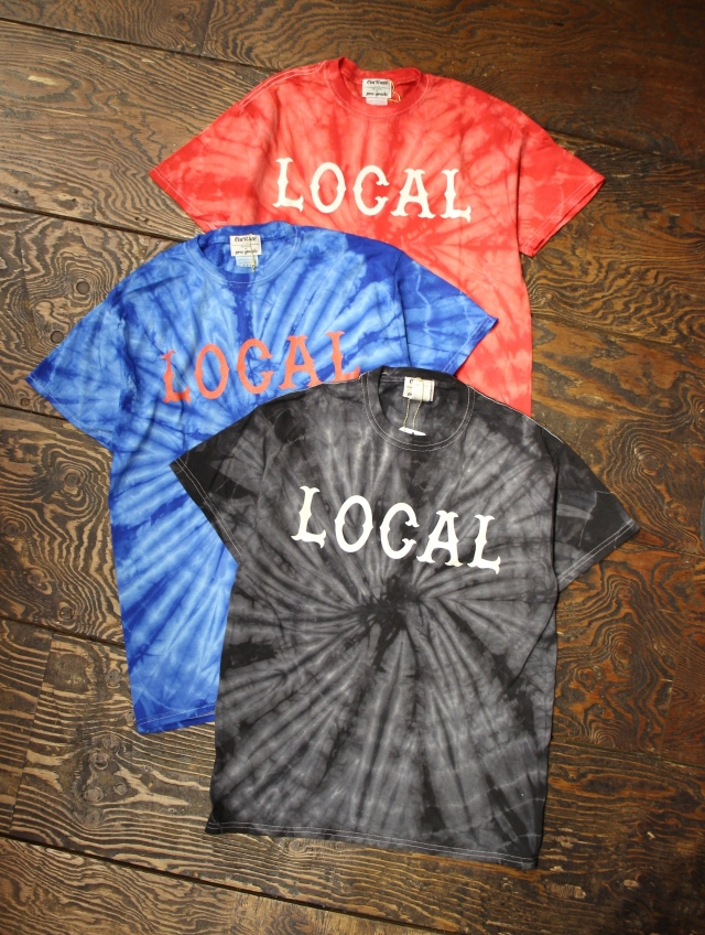 CUT RATE  「TIE DIE LOCAL T-SHIRT」 タイダイティーシャツ
