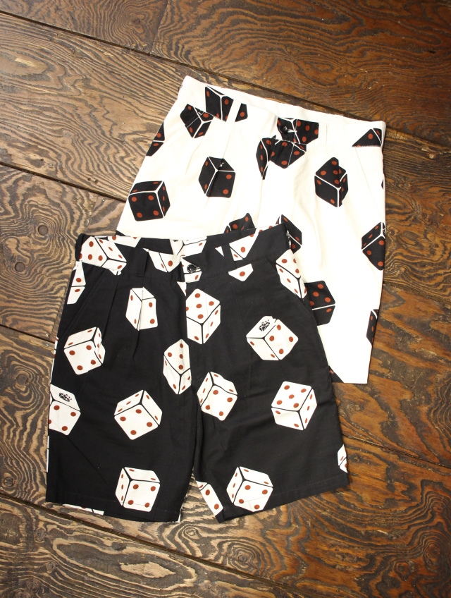GANGSTERVILLE   「TUMBLING DICE - SHORTS」   ショーツ